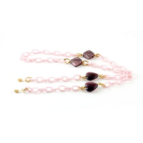 Frank and Lucie brilketting roze-1-FRA9014