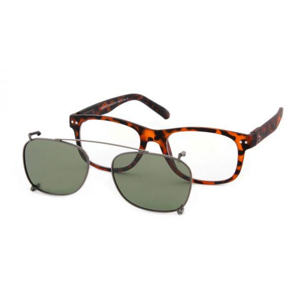 Zonneclip voor alleen Blueberry brillen maat L-1-MEN5005