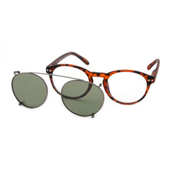 Zonneclip voor alleen Blueberry brillen maat M-3-MEN5004