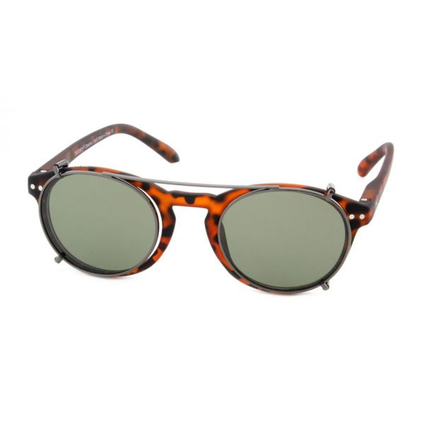 Zonneclip voor alleen Blueberry brillen maat M-2-MEN5004