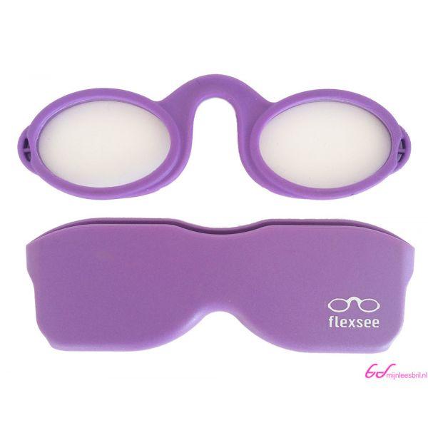 Leesbril Flexsee-Lila-+2.50-2-BOB1005250