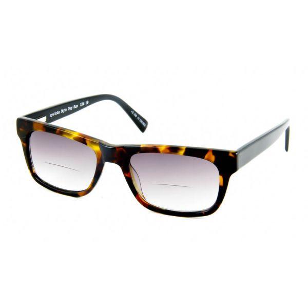 Zonneleesbril bifocaal Style Guy 134 19 havanna/zwart-3-EYE1120