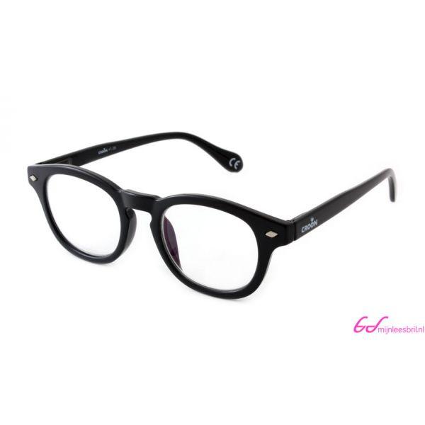Leesbril Croon Bowie Multifocaal 10110-Zwart-+1.00-1-CRO1003100