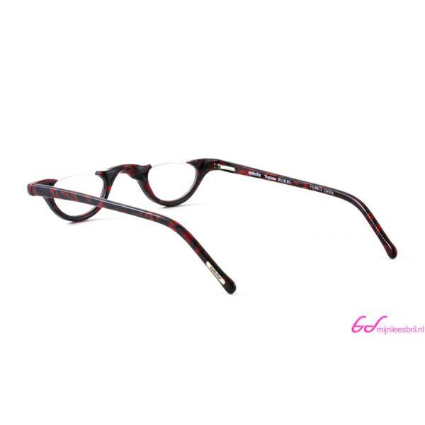Leesbril Topless 2110 01-Zwart / Bordeaux Rood-+1.00-3-EYE1128100