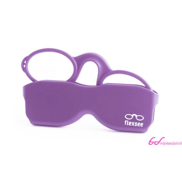 Leesbril Flexsee-Lila-+1.00-1-BOB1005100
