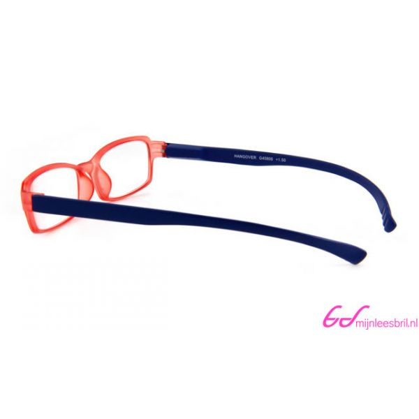 Leesbril INY Hangover G45800 Blauw / Rood-+2.50-3-INY1079250