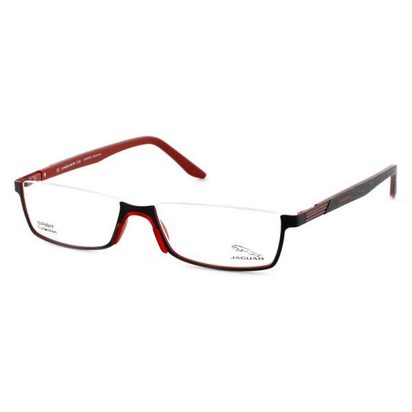 Leesbril look-over Jaguar 33592 1068 zwart/rood-1-MEN1067