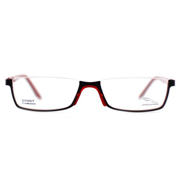Leesbril look-over Jaguar 33592 1068 zwart/rood-2-MEN1067