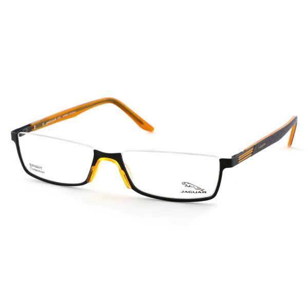 Leesbril look-over Jaguar 33592 1114 zwart/oranje-1-MEN1066