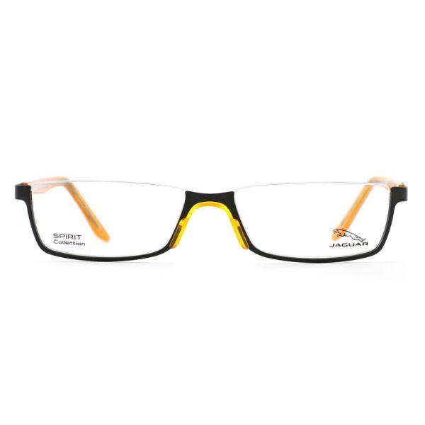 Leesbril look-over Jaguar 33592 1114 zwart/oranje-2-MEN1066