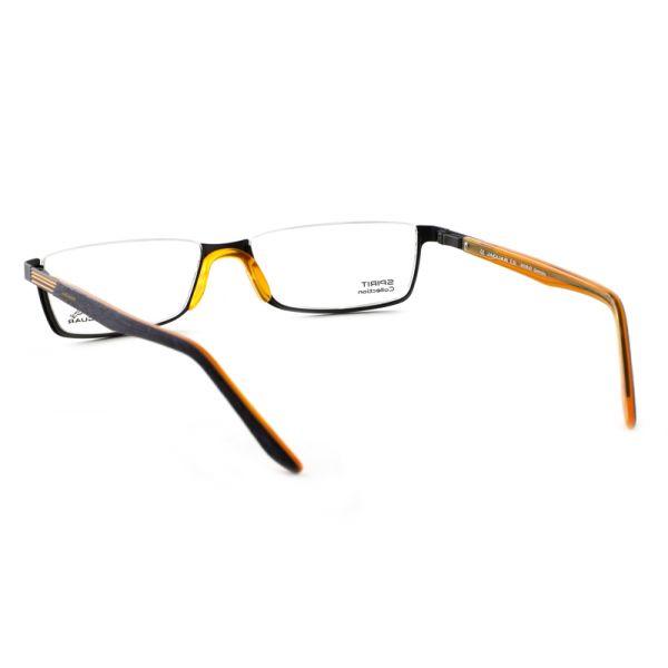 Leesbril look-over Jaguar 33592 1114 zwart/oranje-3-MEN1066