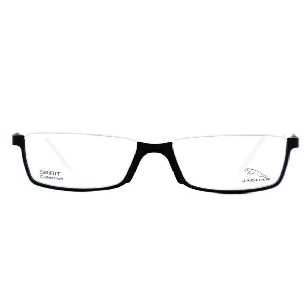 Leesbril look-over Jaguar 33592 6100 zwart/wit-2-MEN1068