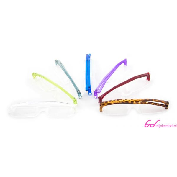 Leesbril Nannini compact opvouwbaar-Gray-+2.50-3-ETU1003250