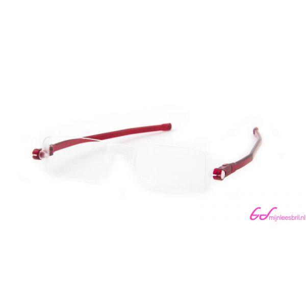 Leesbril Nannini compact opvouwbaar-Rood-+1.00-2-ETU1004100