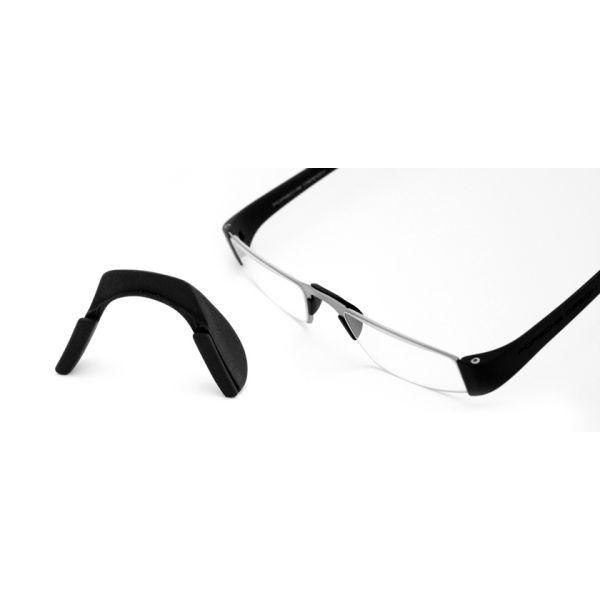 Neusbrug voor alle Porsche leesbrillen zwart-2-ROD5000