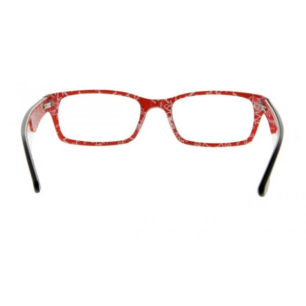 Leesbril Ray-Ban RX5206-2479-52 zwart/rood-4-LUX1036