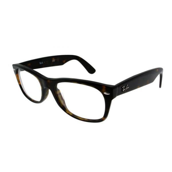 Leesbril Ray-Ban New Wayfarer RX5184-2012-52 havanna/bruin-1-LUX1012