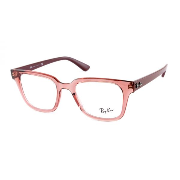 Leesbril Ray-Ban RB4323V 5942 51 transparant licht rood-1-LUX1187
