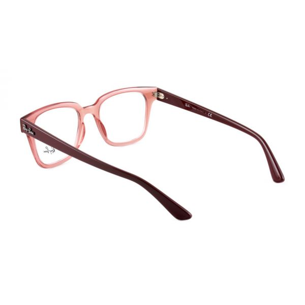 Leesbril Ray-Ban RB4323V 5942 51 transparant licht rood-3-LUX1187