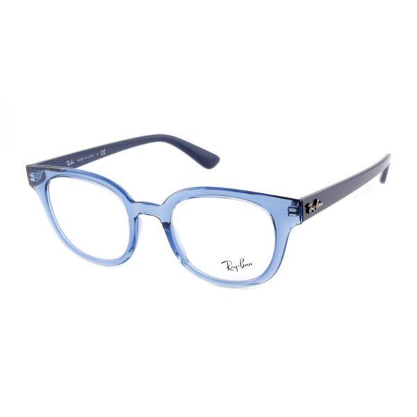 Leesbril Ray-Ban RB4323V 5941 51 transparant blauw-1-LUX1200