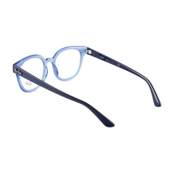 Leesbril Ray-Ban RB4324V 5941 50 transparant blauw-3-LUX1190