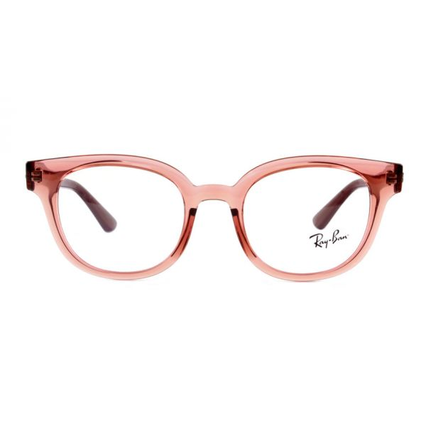 Leesbril Ray-Ban RB4324V 5942 50 transparant licht rood-2-LUX1191