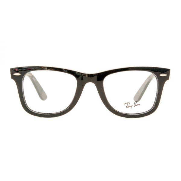 Leesbril Ray-Ban Wayfarer RX4340v-2000-50 zwart-2-LUX1181