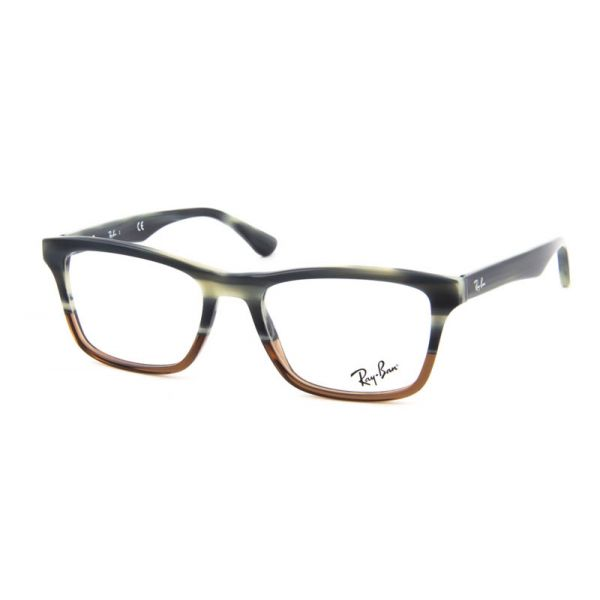 Leesbril Ray-Ban RX5279-5540-55 blauw/bruin-2-LUX1121