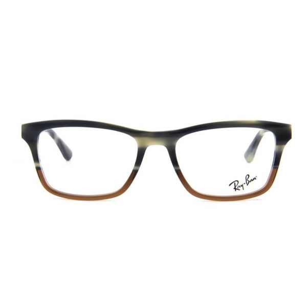 Leesbril Ray-Ban RX5279-5540-55 blauw/bruin-1-LUX1121