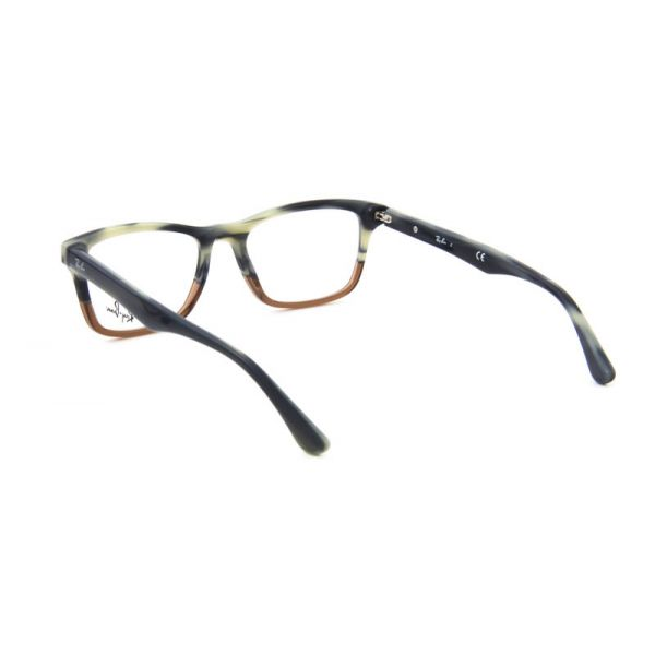 Leesbril Ray-Ban RX5279-5540-55 blauw/bruin-3-LUX1121