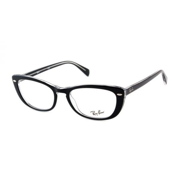 Leesbril Ray-Ban RX5366 2034 52 zwart transparant-1-LUX1171