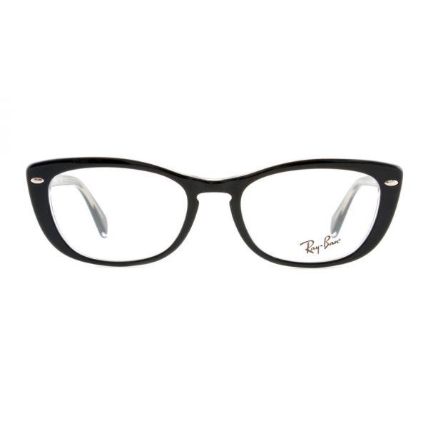 Leesbril Ray-Ban RX5366 2034 52 zwart transparant-2-LUX1171