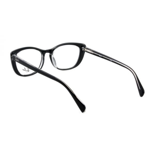 Leesbril Ray-Ban RX5366 2034 52 zwart transparant-3-LUX1171