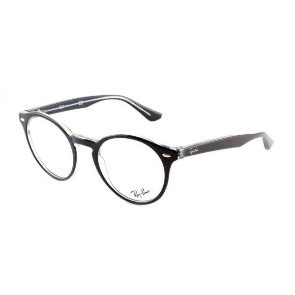 Leesbril Ray-Ban 0RX5376 2034 49 zwart transparant-1-LUX1192