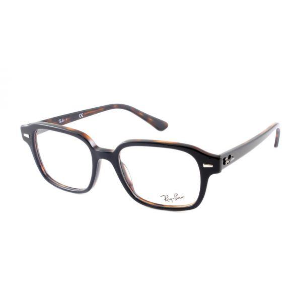 Leesbril Ray-Ban 0RX5382 5909 52 zwart havanna -1-LUX1196