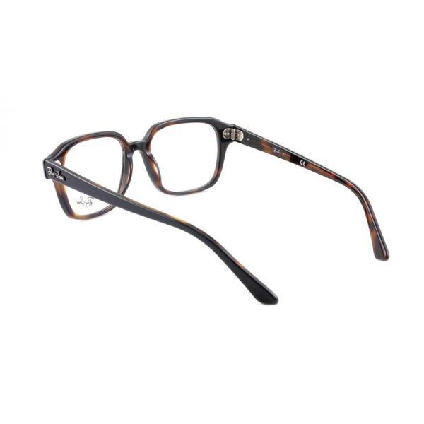 Leesbril Ray-Ban 0RX5382 5909 52 zwart havanna -3-LUX1196