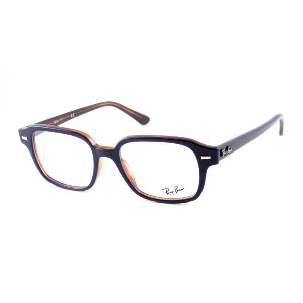 Leesbril Ray-Ban 0RX5382 5910 52 blauw havanna -1-LUX1197
