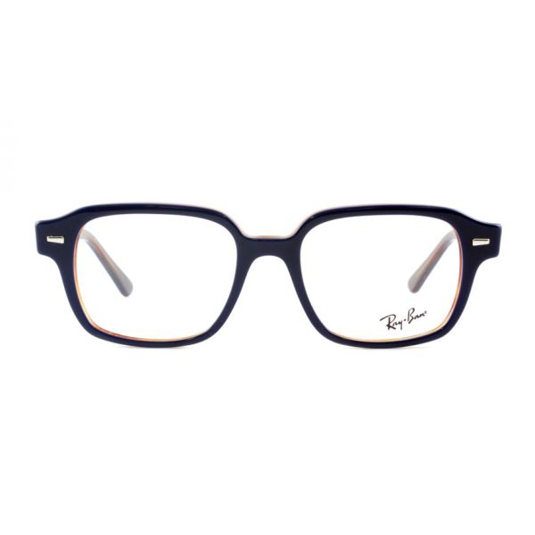 Leesbril Ray-Ban 0RX5382 5910 52 blauw havanna -2-LUX1197