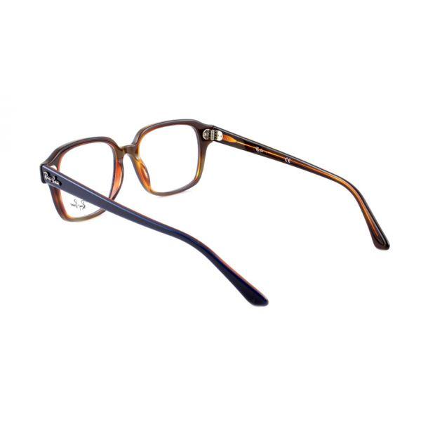 Leesbril Ray-Ban 0RX5382 5910 52 blauw havanna -3-LUX1197