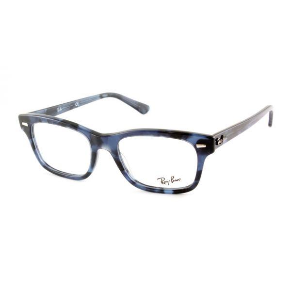 Leesbril Ray-Ban 0RX5383 5946 52 havanna donkerblauw-1-LUX1199
