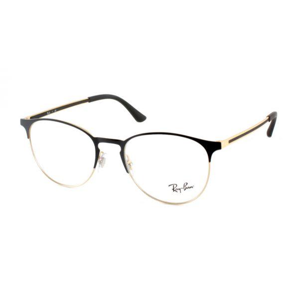 Leesbril Ray-Ban RX6375 2890 51 zwart/goud-3-LUX1175