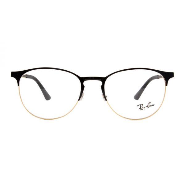 Leesbril Ray-Ban RX6375 2890 51 zwart/goud-2-LUX1175