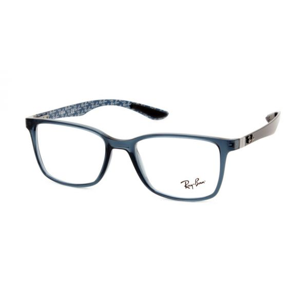 Leesbril Ray-Ban RX8905-5844-53 transparant blauw-1-LUX1182