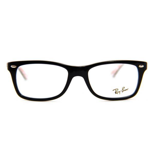 Leesbril Ray-Ban RX5228-5014-50 zwart/wit-2-LUX1070
