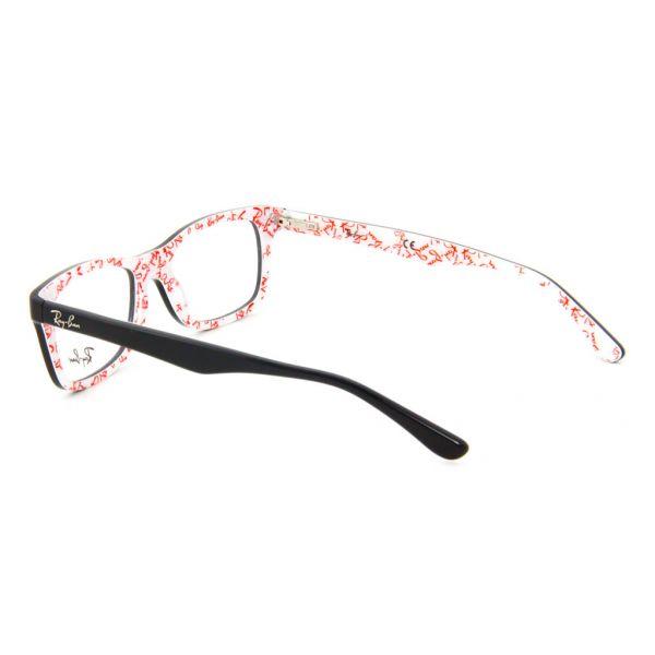 Leesbril Ray-Ban RX5228-5014-50 zwart/wit-3-LUX1070