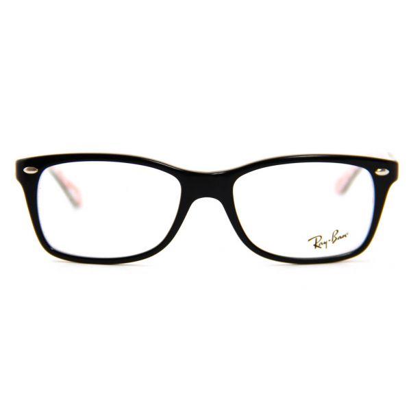 Leesbril Ray-Ban RX5228-5014-53 zwart/wit-2-LUX1074