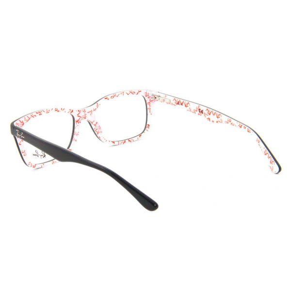 Leesbril Ray-Ban RX5228-5014-53 zwart/wit-3-LUX1074