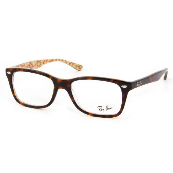 Leesbril Ray-Ban RX5228-5057-53 havanna/crème-1-LUX1075