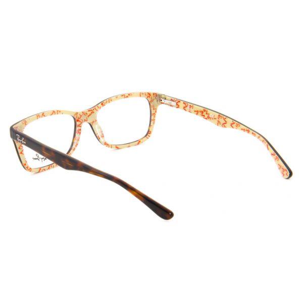 Leesbril Ray-Ban RX5228-5057-53 havanna/crème-3-LUX1075