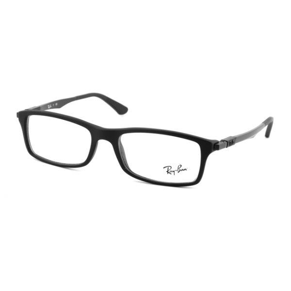 Leesbril Ray-Ban RB7017-5196-54 mat zwart-1-LUX1102